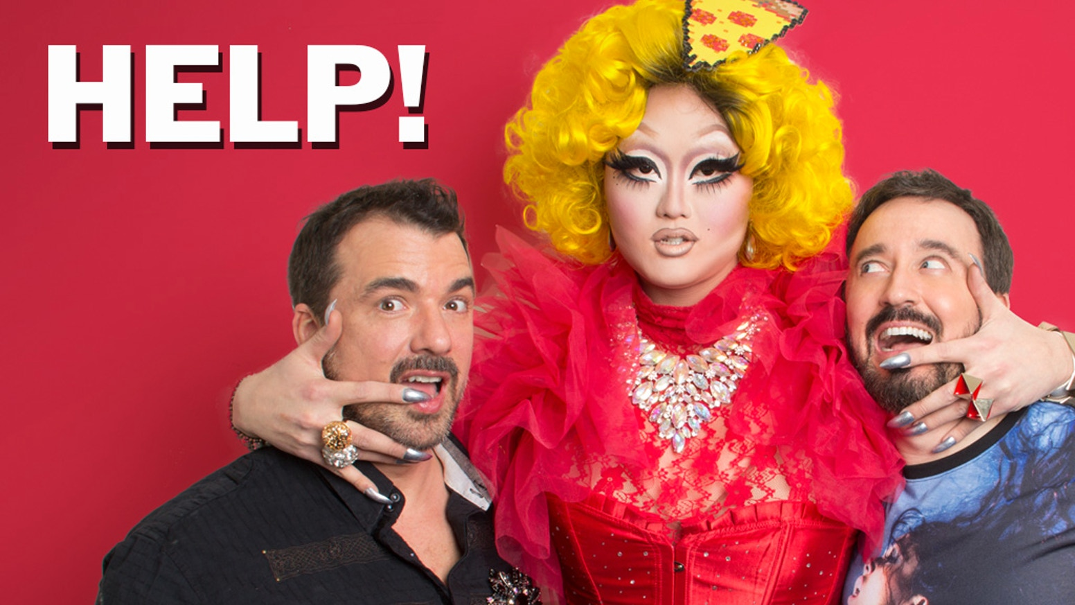 Pledge $1 & follow around your favorite drag queens & meet some sizzling new gals in this delicious new cooking show.