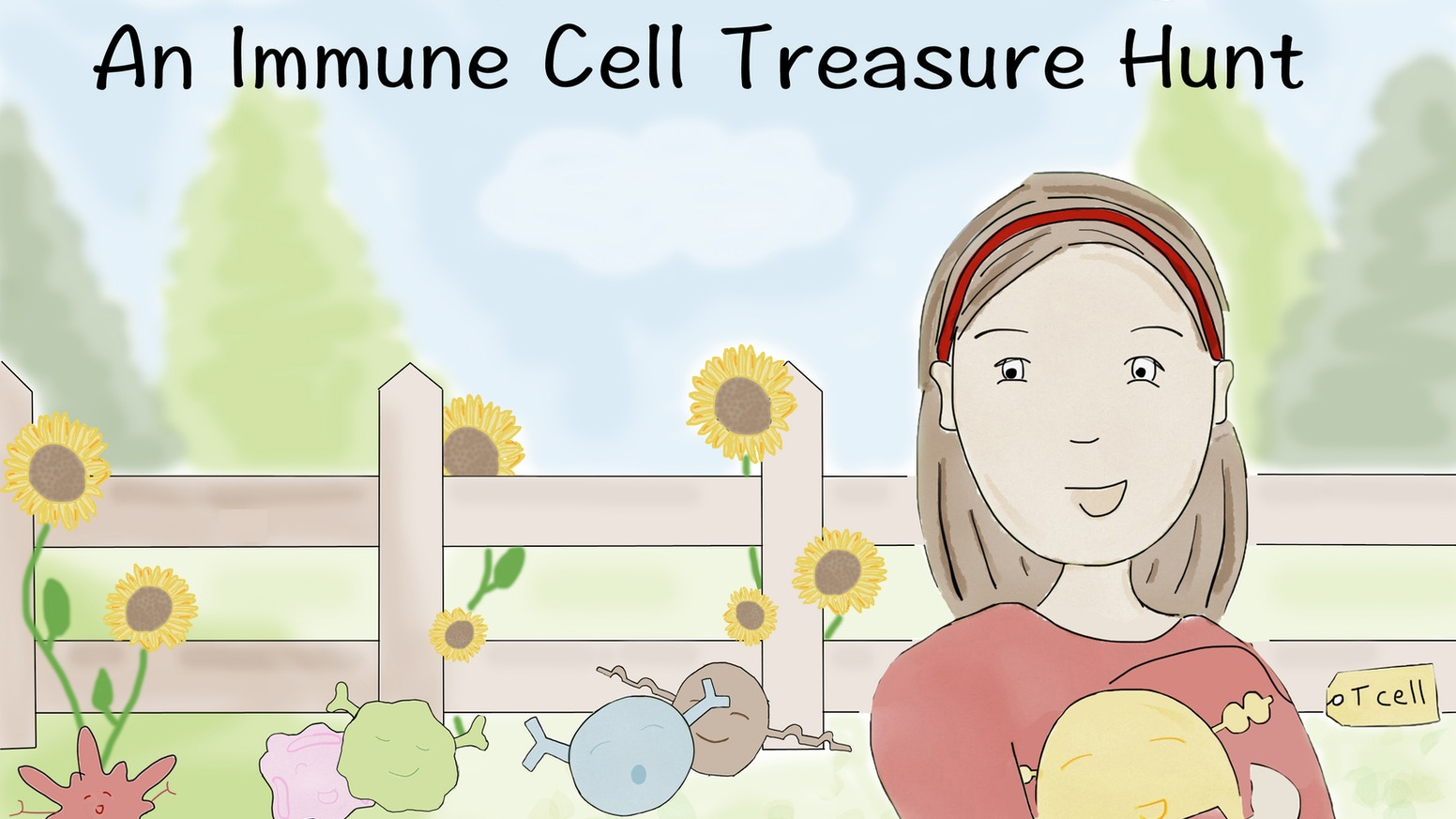 A children's book about our immune cell superheroes! Promote girls in science and inspire scientific curiosity in the next generation.