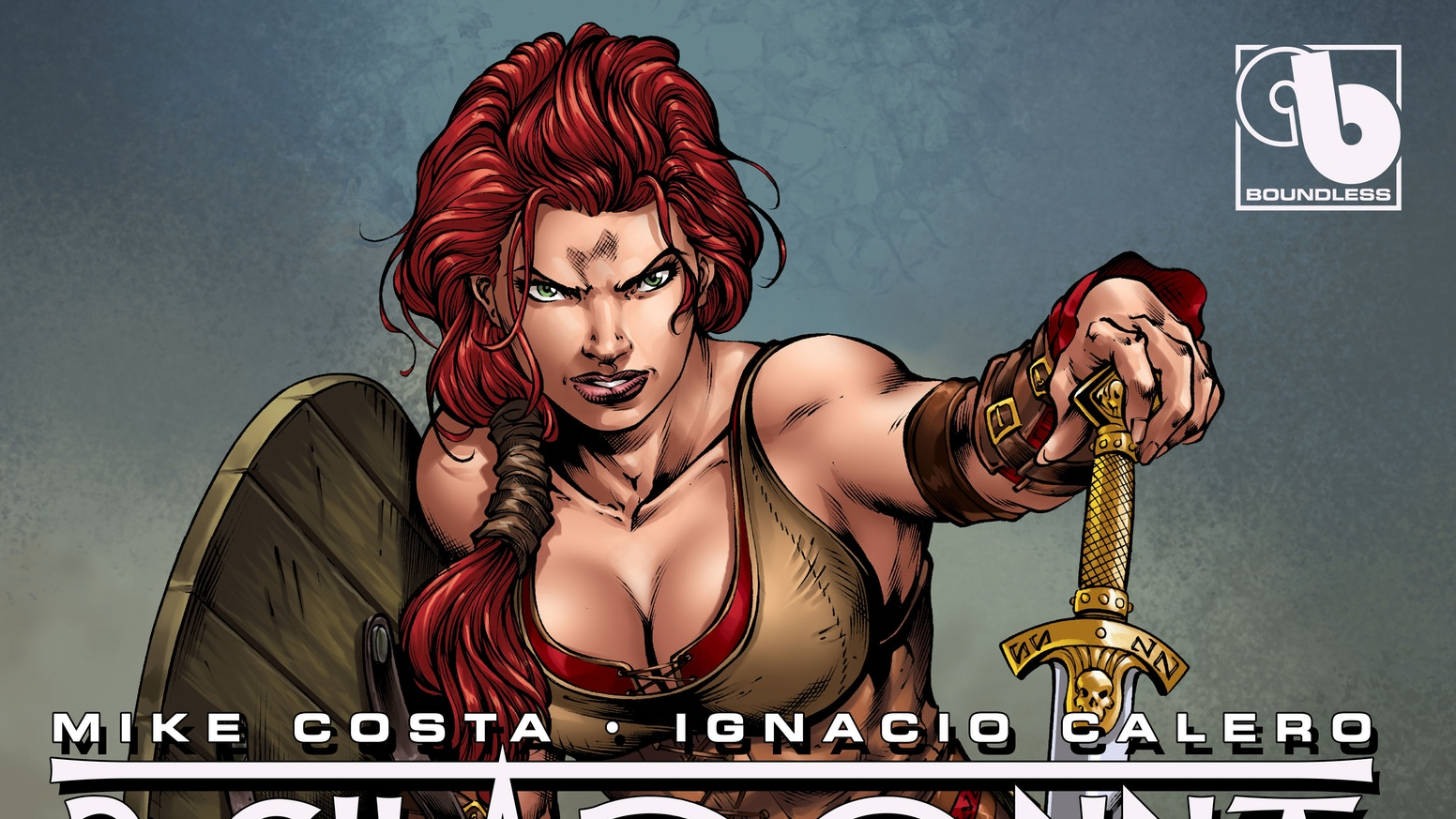 BELLADONNA returns with this action-packed sexy Viking re-imagining by writer Mike Costa and stunning artist Ignacio Calero.