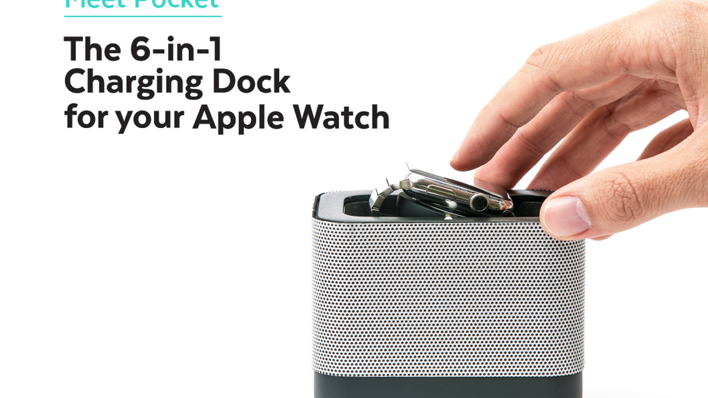 Pocket: 6-in-1 Portable Charging Dock for Apple Watch project video thumbnail