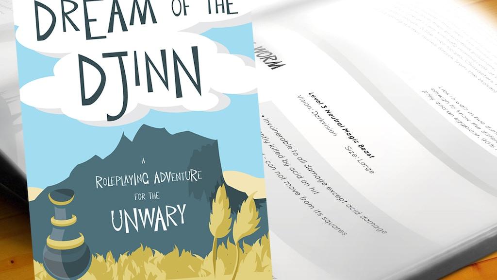 Dream of the Djinn Tabletop RPG Adventure project video thumbnail
