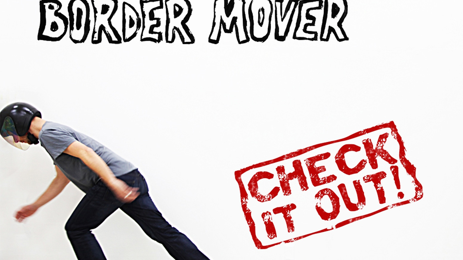 Border Mover is a new pneumatic video installation that moves borders!