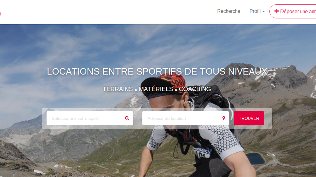 Project image for Playeur, plateforme collaborative dédiée au sport