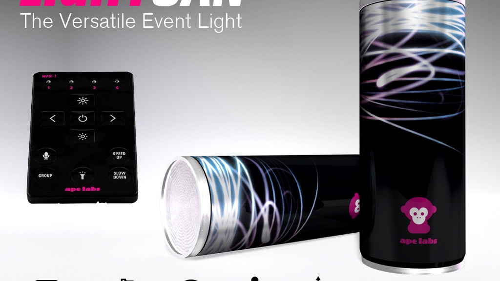 LightCan -  World's first LED Party Light in a Beverage Can! project video thumbnail