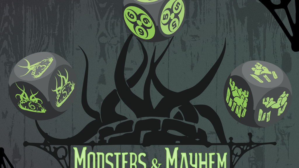 Project image for Level Up Dice™ Monsters and Mayhem