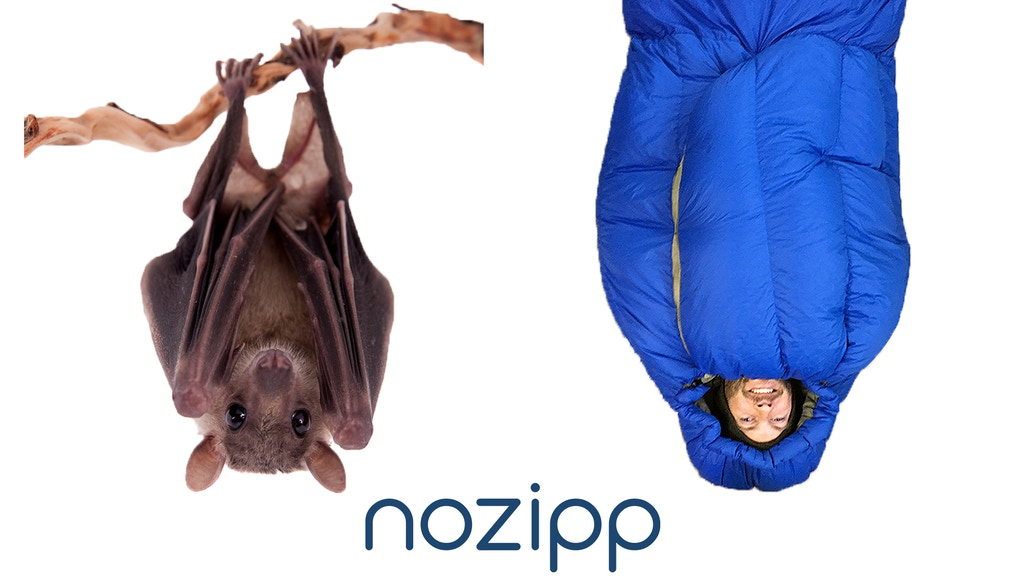NOZIPP: Building Better Sleeping Bags project video thumbnail