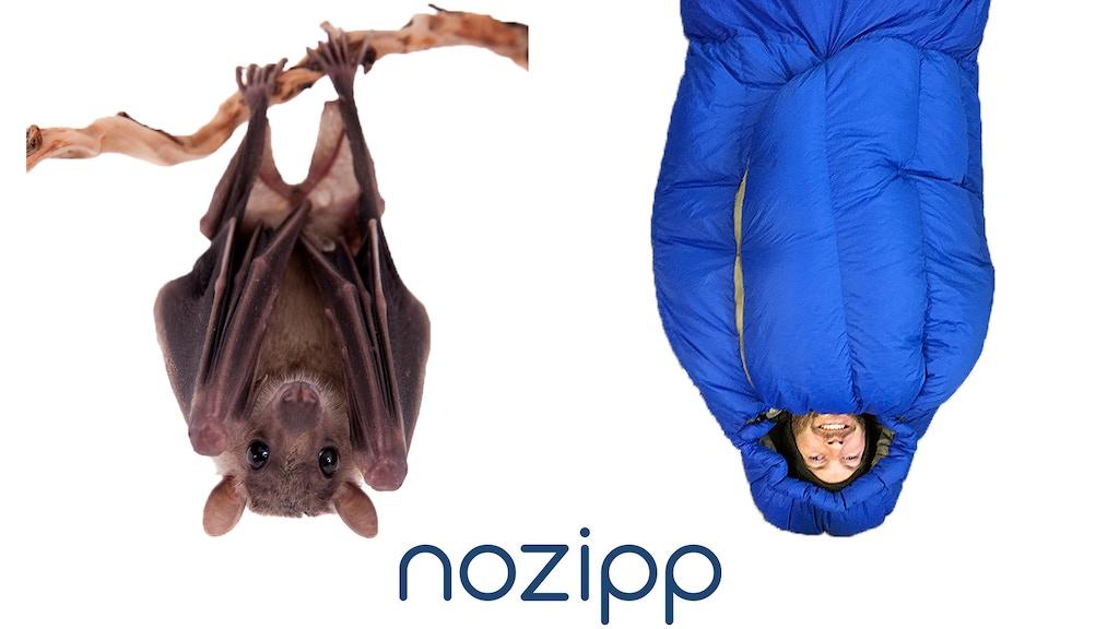 NOZIPP: Building Better Sleeping Bags project video thumbnail