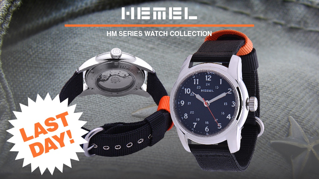 Hemel - Classic Military Watches for the Modern Gentleman project video thumbnail
