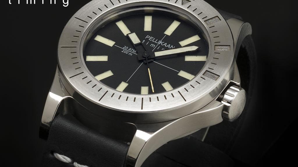 Diving Dutchman: Ti5 diving watch | handbuilt | handwound project video thumbnail