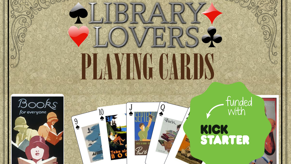 Library Lovers Playing Cards project video thumbnail