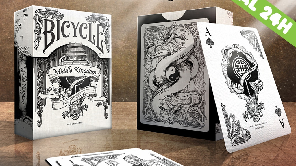 Middle Kingdom Bicycle® Playing Cards Printed by USPC project video thumbnail
