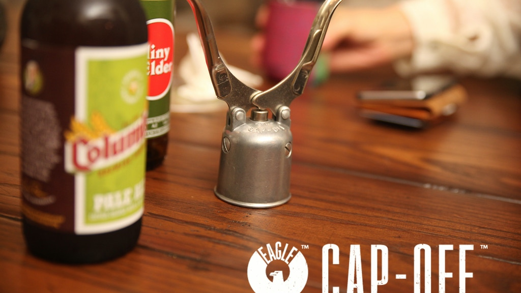 Cap-Off: The Bottle Opener For The Craft Beer Enthusiast project video thumbnail