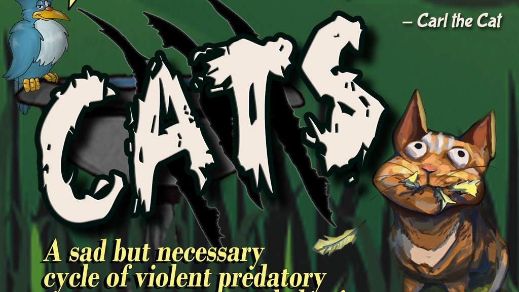 CATS a sad but necessary cycle of violent predatory behavior project video thumbnail
