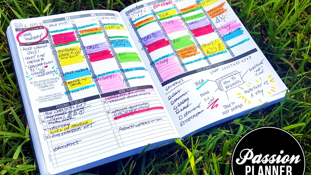 Passion Planner: Get One, Give One project video thumbnail