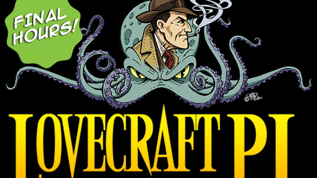 """Lovecraft P.I."" A Three Issue Limited Comic Series project video thumbnail"