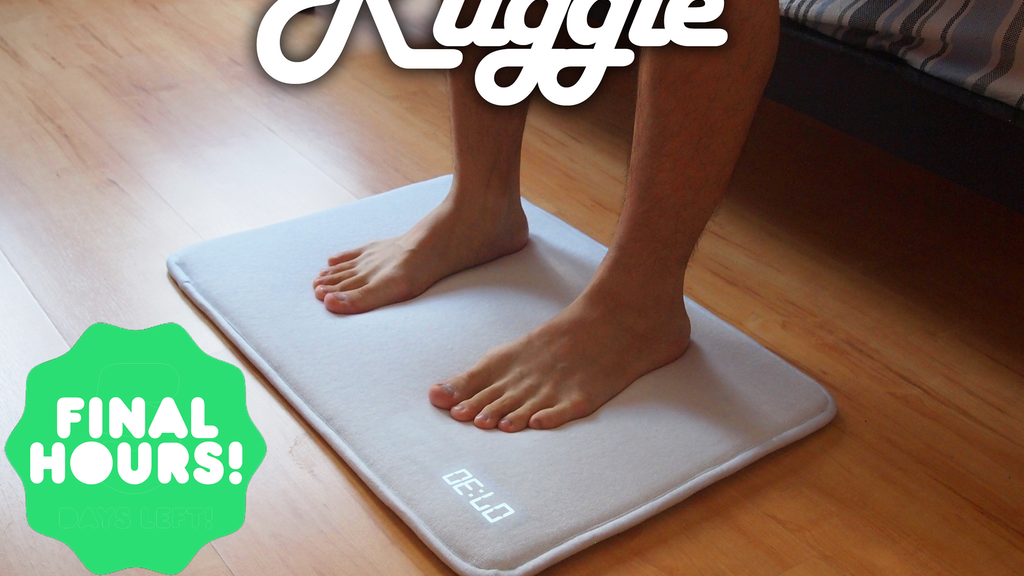 Snooze Project ruggie™ - the world's best alarm clockruggie — kickstarter