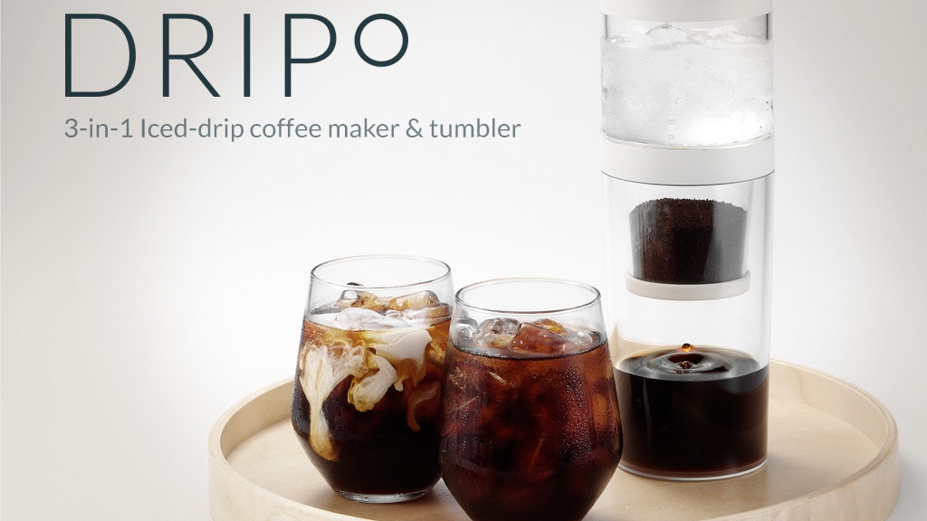 Dripo - 3 in 1 Travel Iced-drip Coffee Maker & Tumbler. project video thumbnail