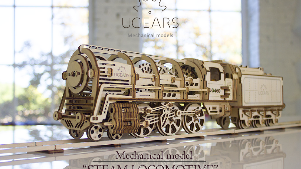 UGEARS: Self-propelled mechanical models project video thumbnail