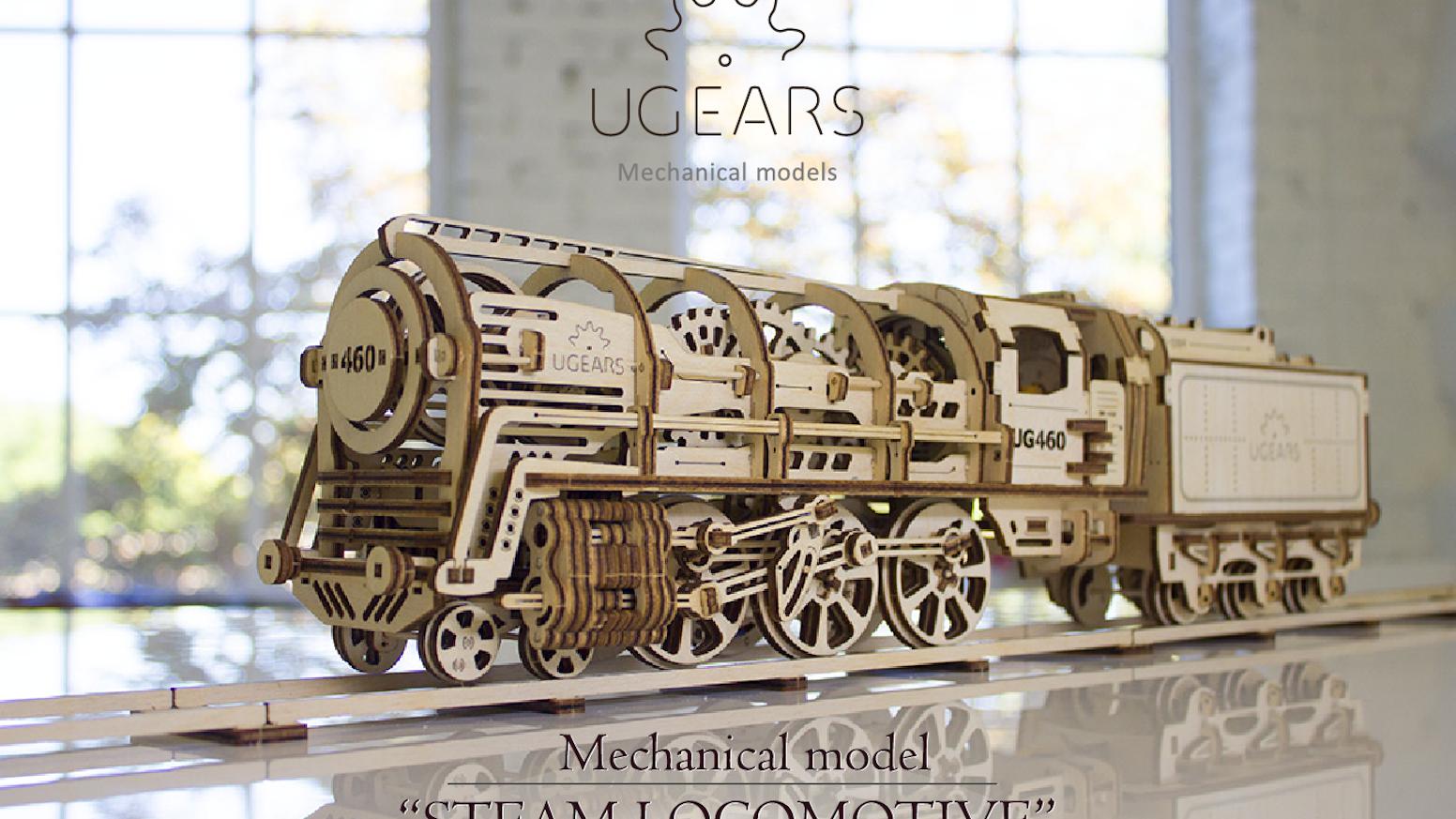 UGEARS: Self-propelled mechanical models by UGEARS — Kickstarter