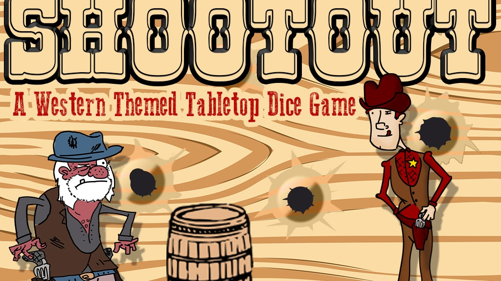 Shootout - a Western Themed Dice Rolling Tabletop Game project video thumbnail