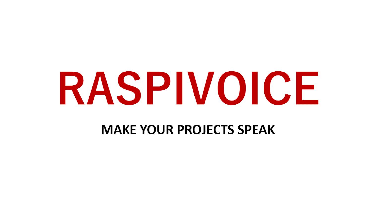 RaspiVoice V2 0 by Werner Terreblanche — Kickstarter