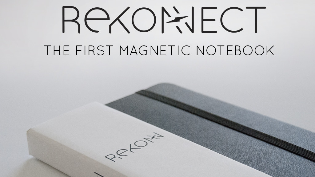 Rekonect Notebook: The Magnetic Lifestyle project video thumbnail