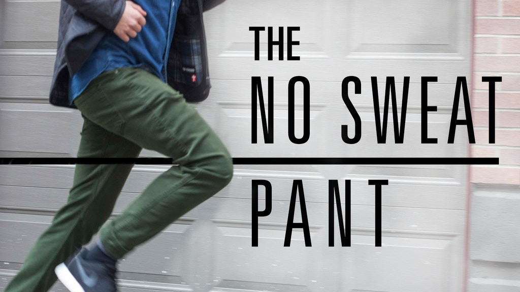 "The Revolutionary ""NO SWEAT"" Pant w/10 features & Nature2X® project video thumbnail"
