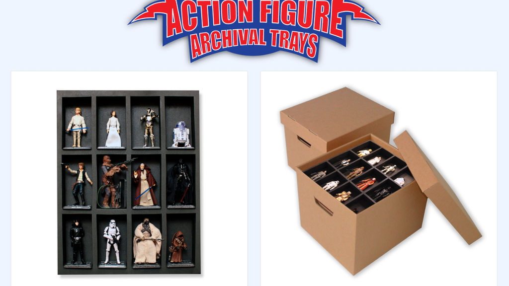 Action Figure Archival Trays - Display and Storage project video thumbnail