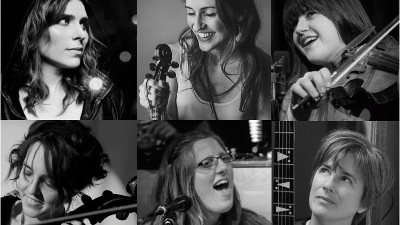 Holiday music from Sinatra to Silent Night reinterpreted by a collaboration of Somerville lady singer-songwriters and string players