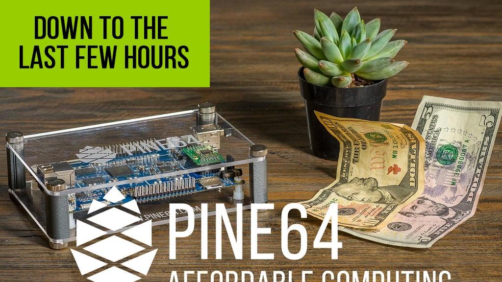 PINE A64, First $15 64-Bit Single Board Super Computer by PINE64 Inc ...