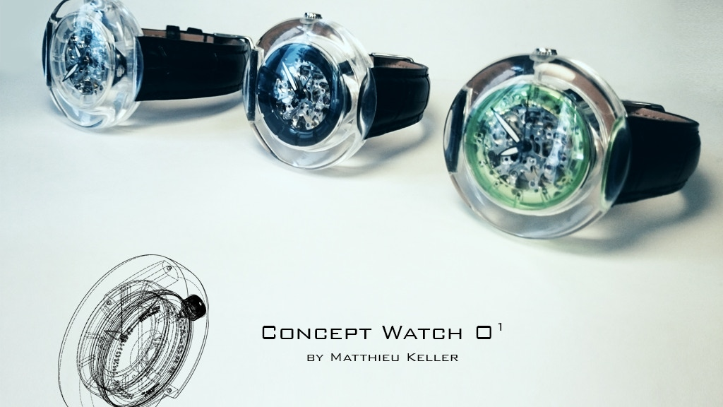 Project image for Project O - Concept Watch O1 by Matthieu Keller