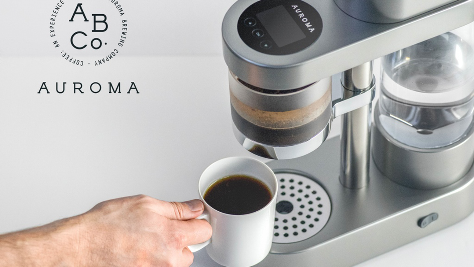ALL-IN-ONE PRECISION GRIND & BREW. Designed for one purpose- Brew amazing coffee every time.