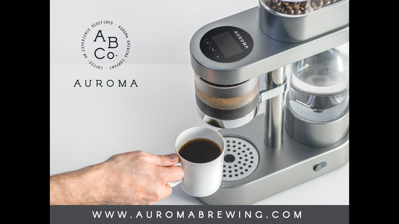 Delta Coffee Maker With Grinder : Auroma: Never Make Bad Coffee Again by Auroma Brewing Company Kickstarter