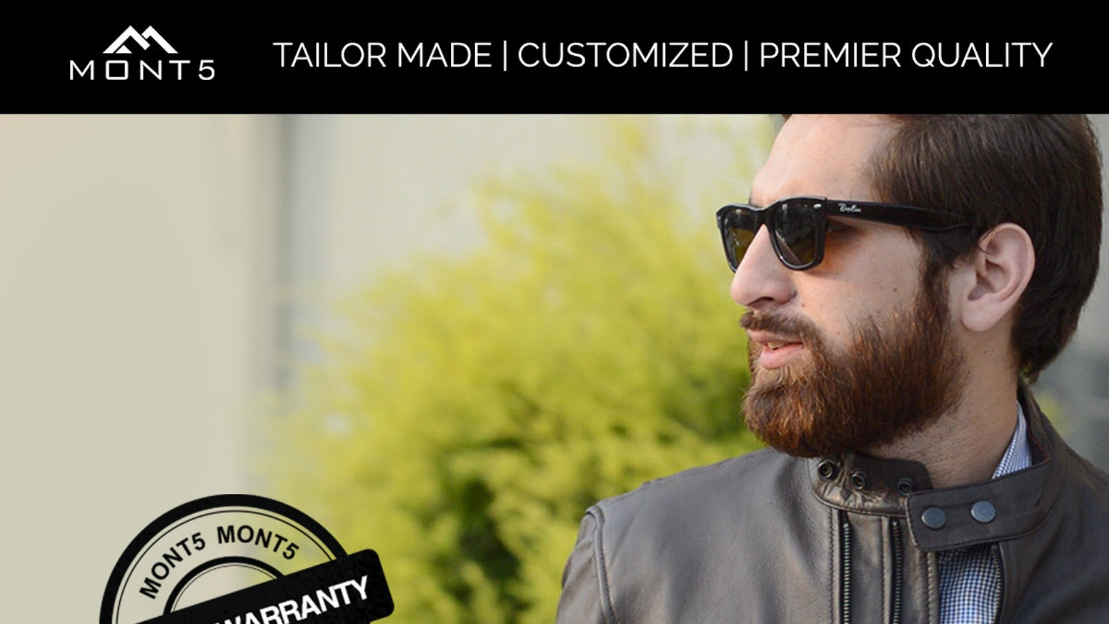 Made-to-measure jackets with a LIFETIME warranty. Classic designs with a modern touch, personalized for each customer.