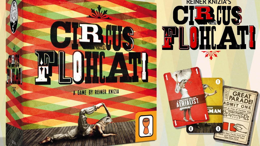 Reiner Knizia's Circus Flohcati project video thumbnail