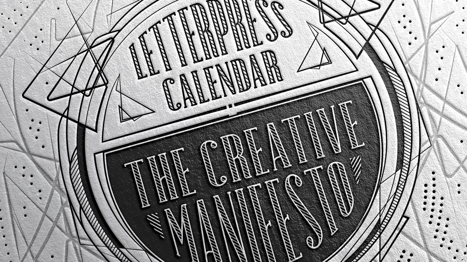 This is the 5th edition of the Mr Cup letterpress calendar ! As last year, worldwide renowned creatives participate to its creation.