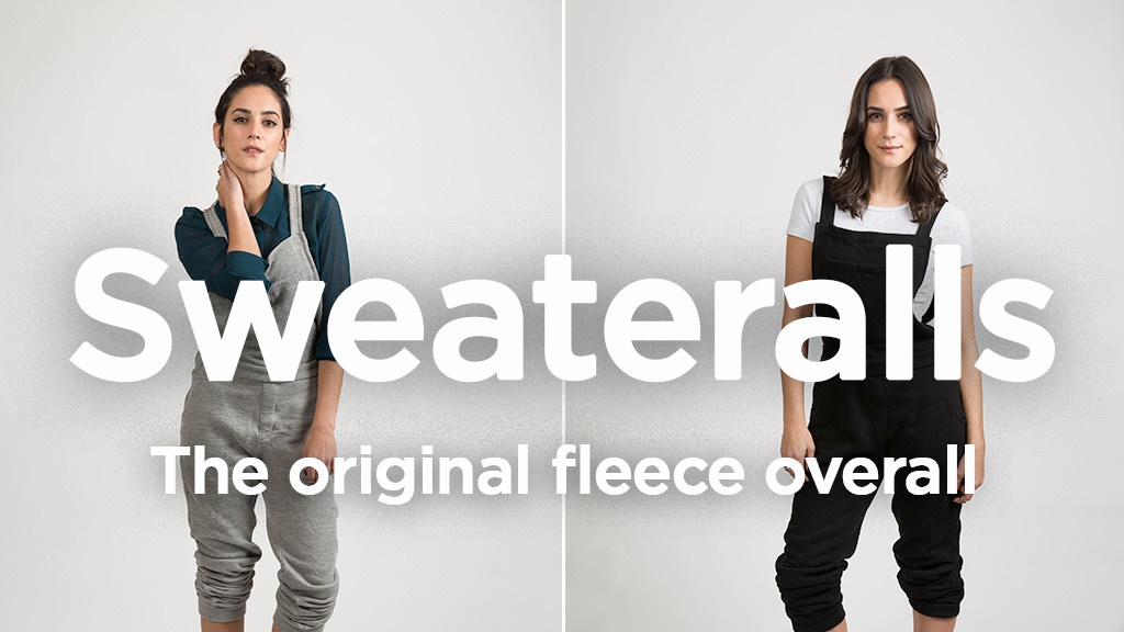 SWEATERALLS - The Original Fleece Overall project video thumbnail