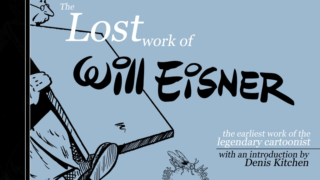 The Lost Work of Will Eisner project video thumbnail