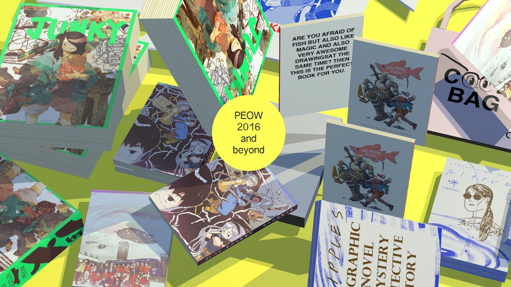 Future of Comics: From Peow project video thumbnail