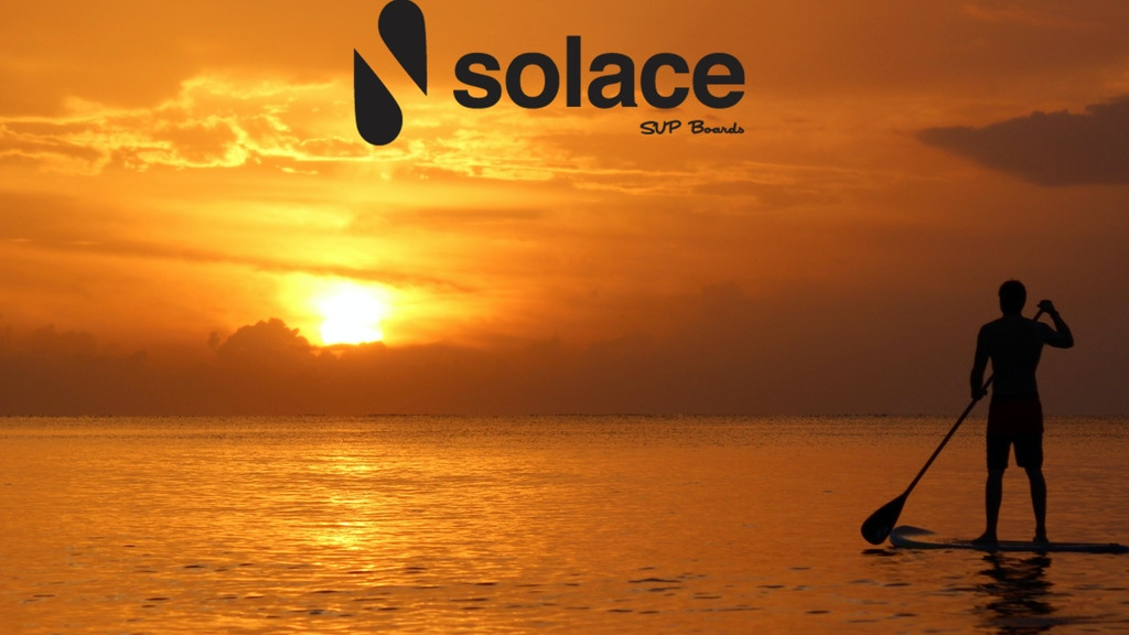 Solace SUP Boards-Stand Up Paddle Board Line project video thumbnail