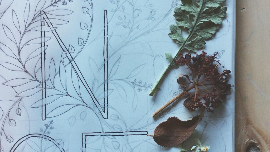 Botanical Inklings project video thumbnail