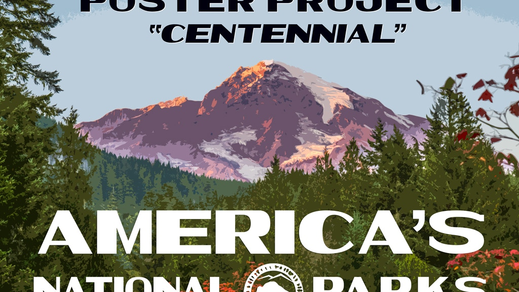 The National Park Poster Project - Centennial Collection project video thumbnail