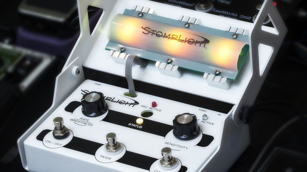 StompLight Stage Lighting Effect Pedal (LEP) project video thumbnail