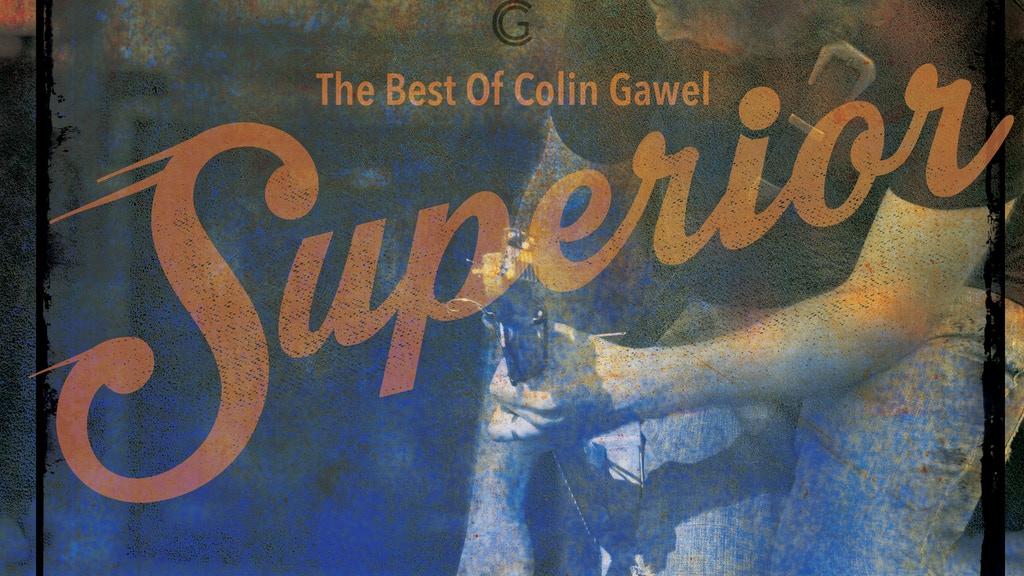 Pre-order: Superior - The Best of Colin Gawel project video thumbnail