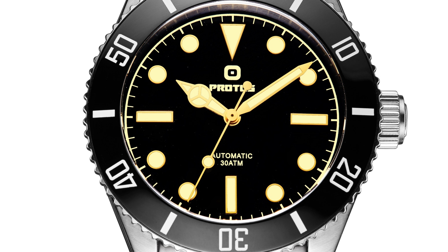 watches scuba steel en color black waterproof otumm