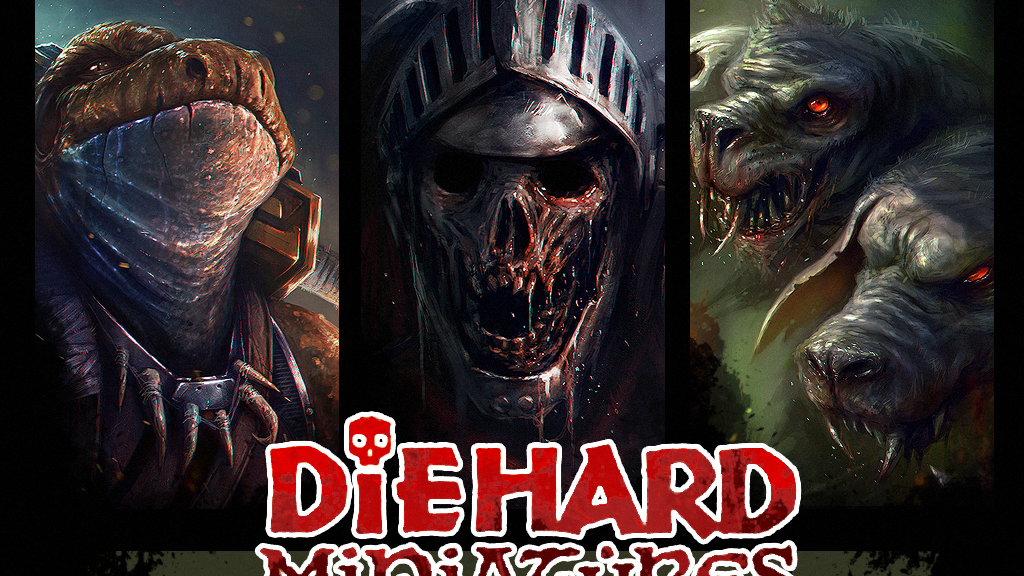 Diehard Miniatures: Fantasy Miniatures project video thumbnail
