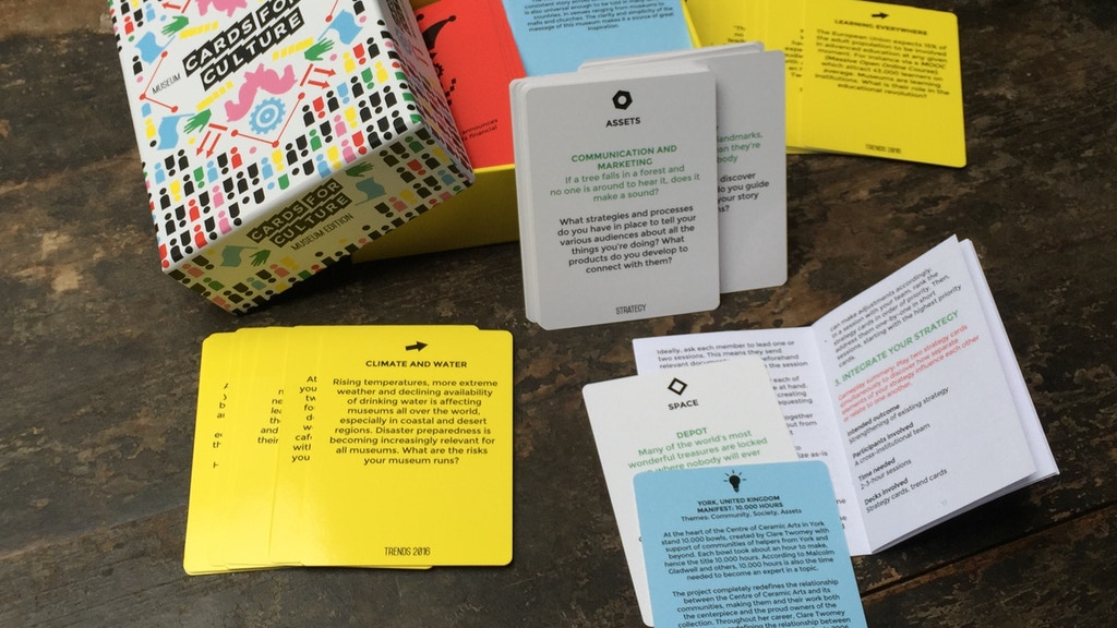 Cards for Culture: Playful strategy development for museums project video thumbnail