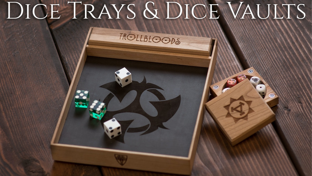 Wyrmwood Dice Trays & Dice Vaults for WARMACHINE & HORDES! project video thumbnail