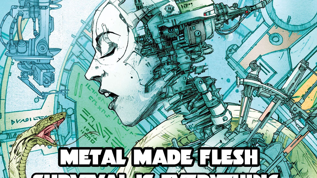 Metal Made Flesh 2 - An epic science-fiction graphic novel project video thumbnail