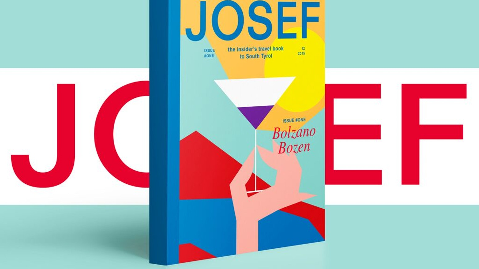 Josef is the new travel book, published by franzmagazine, to discover Bolzano Bozen, SouthTyrol, through the eyes of its insiders.